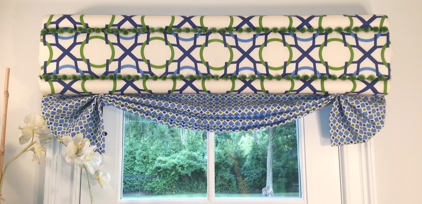 Easy Diy Roman Valances Deco Wrap Window